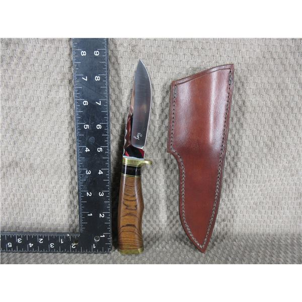 Lay Knife made by Bob Lay of British Columbia with Sheath