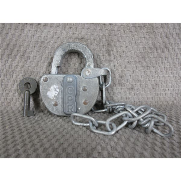 CPR Switch Padlock with Key - Working