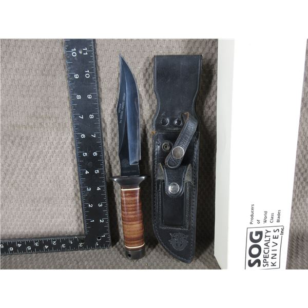 SOG Specialty Kinves - Bowie with Leather Sheath