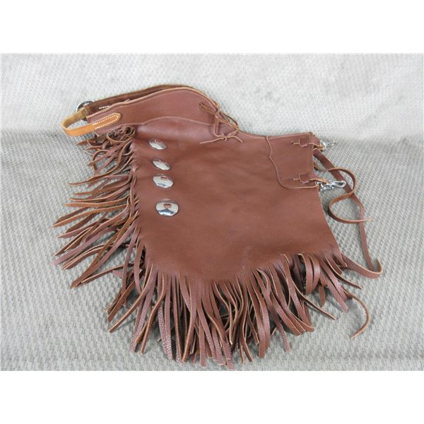 Pair of Leather Chaps (Chinks)