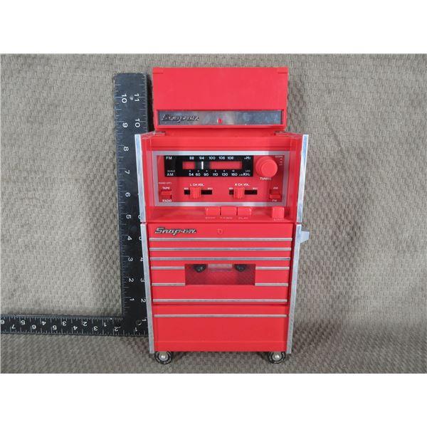 Snap-on Tool Box Radio & Cassette Player