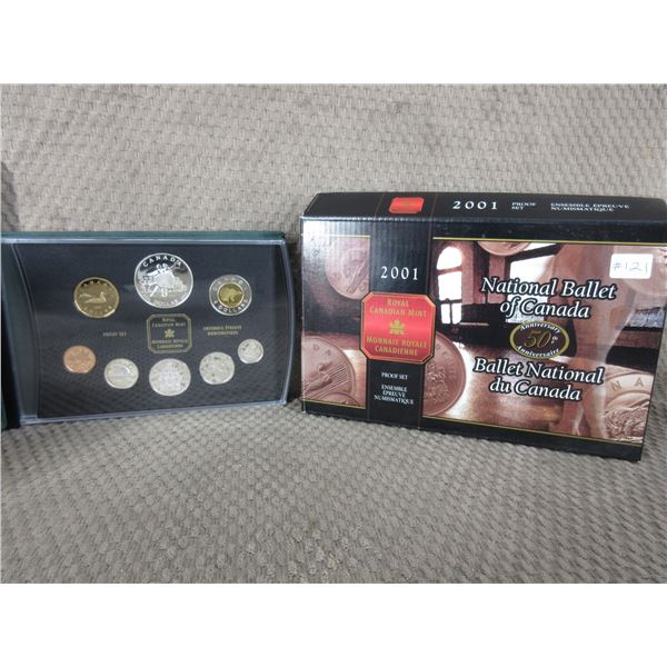 1998 - 8 Coin Proof Set with National Ballet Coin