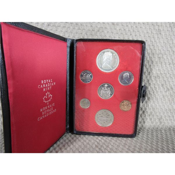 1973 Canada Double Dollar 7-Coin Proof Set inCase