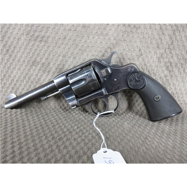 Restricted - Colt 1892 Navy & Army Revolver in 41 Long Colt