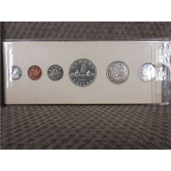 1957 6 Coin Proof Set