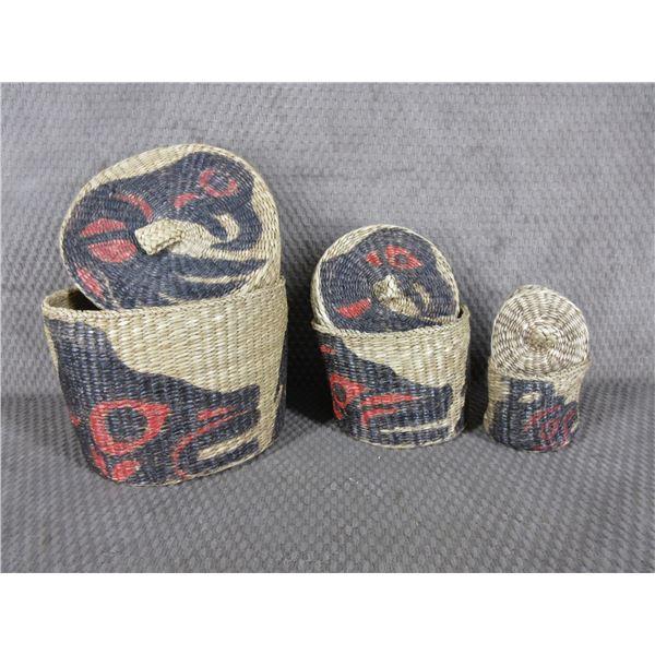 Indigenous Basket Set