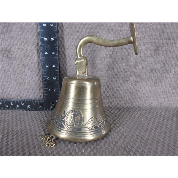 Brass Bell Wall Mount