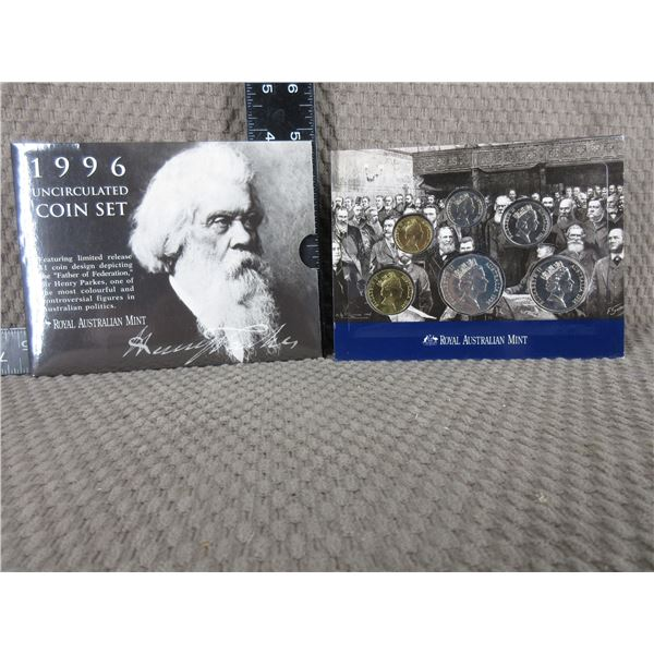 1996 Royal Australian Mint Uncirculated Coin Set