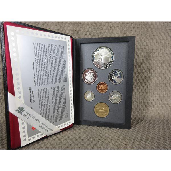 1996 Canada Double Dollar 7-Coin Proof Set inCase