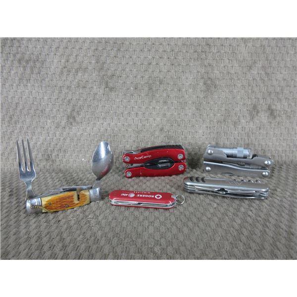5 Knives/Tools