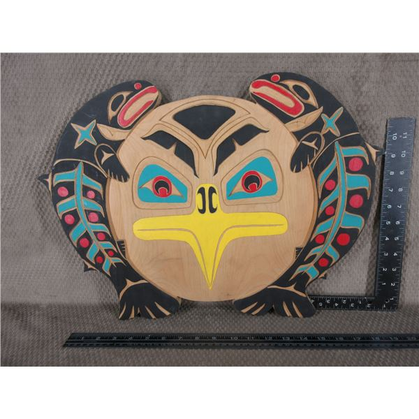 Indigenous Plaque by Vince Silver