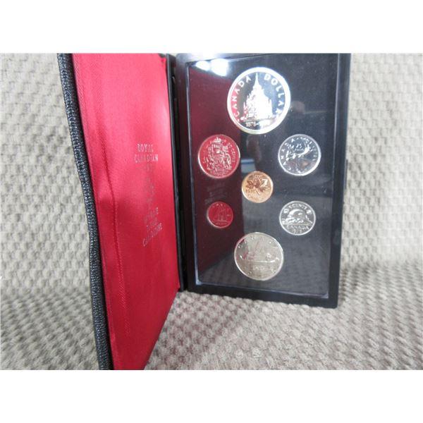 1976 Canada Double Dollar 7-Coin Proof Set inCase
