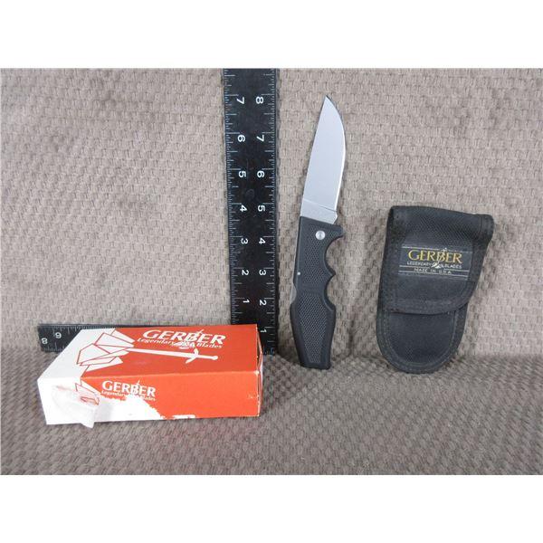 Gerber Model 600 Magnum LST Knife with Sheath