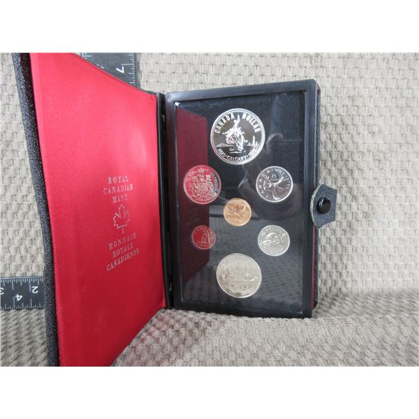 1975 Canada Double Dollar 7-Coin Proof Set inCase