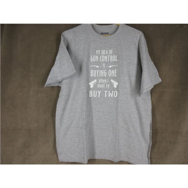 NEW - T-Shirt in XL - My Idea of Gun Control