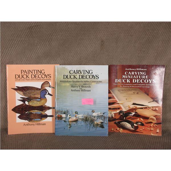 3 Books on Duck Decoys