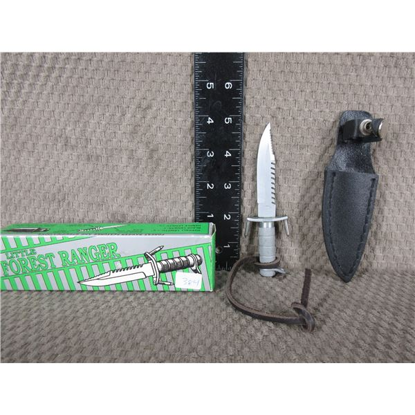 Little Forest Ranger Knife with Sheath by United