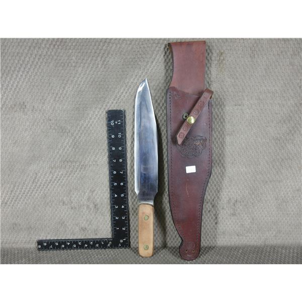 Hawkin St. Louis Throwing Knife with Sheath