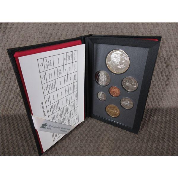 1989 Canada Double Dollar 7-Coin Proof Set inCase