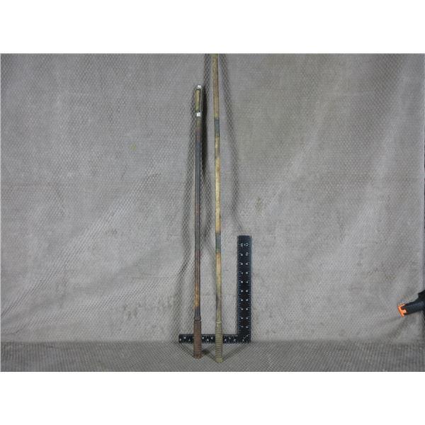 2 Vintage Wood Shotgun Cleaning Rods