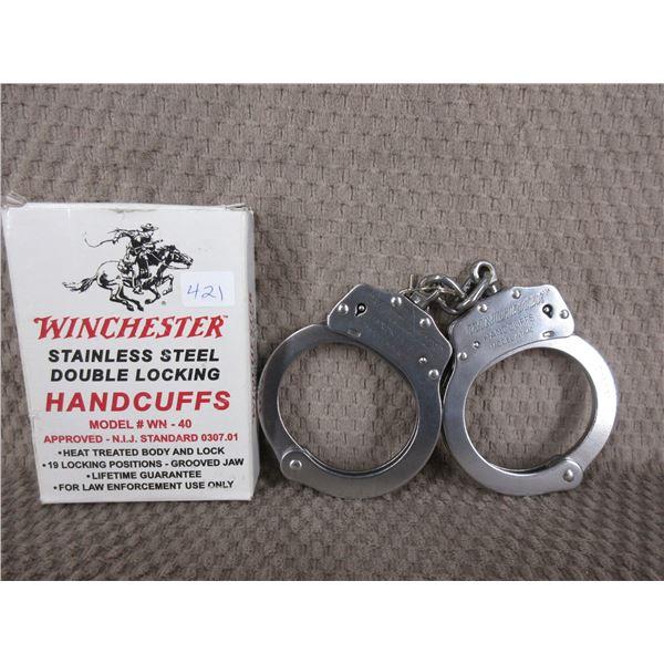 Winchester Handcuffs Model # WN-40 - Appear Unused