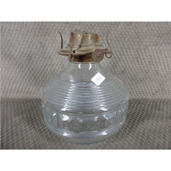 Clear Lantern Base