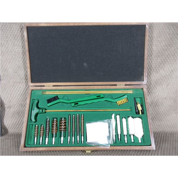 Cased Gun Cleaning Kit - May have been used