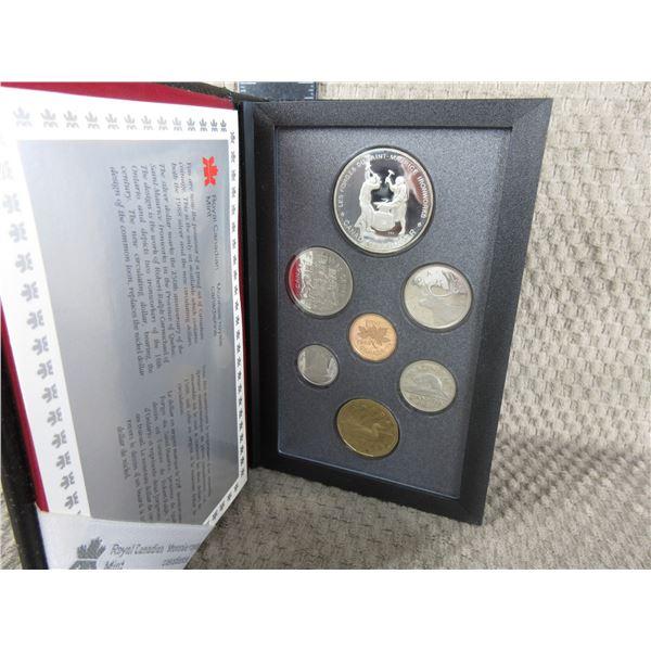 19880 Canada Double Dollar 7-Coin Proof Set inCase