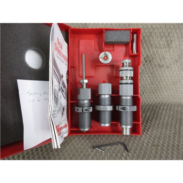 9MM Luger/9X21 Hornady 3 Die Set with Shell Holder