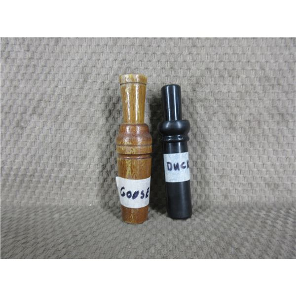 Duck and Goose Calls