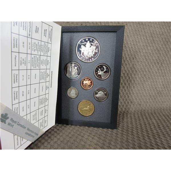 1994 Canada Double Dollar 7-Coin Proof Set inCase