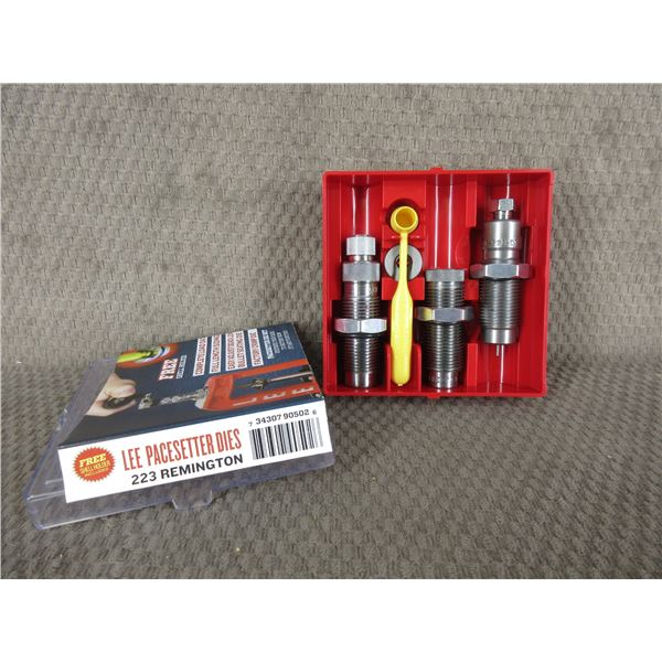 223 Remington - Lee 3 Die Set with Shell Holder