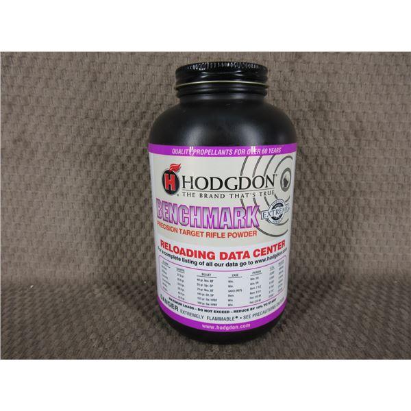 Hodgdon Benchmark Powder - Can weighs 516 Grams