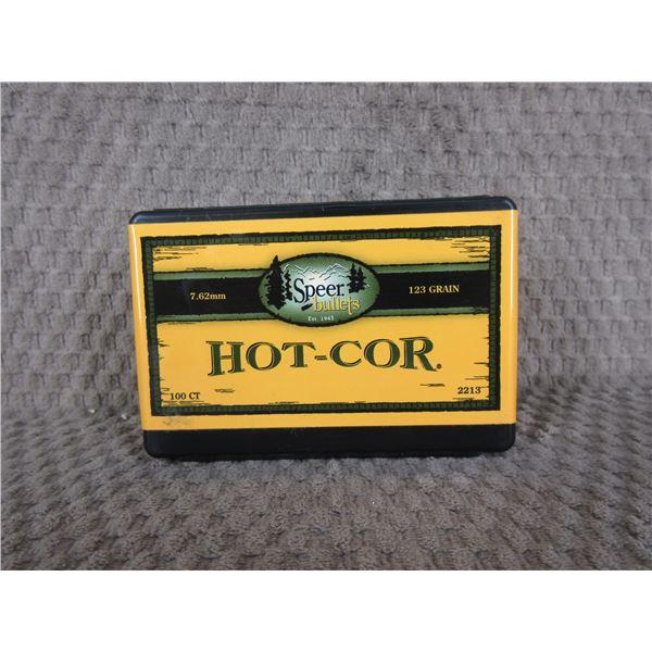 Speer Hot-Cor 7.62 123 gr HCSP Box of 100 Unopened