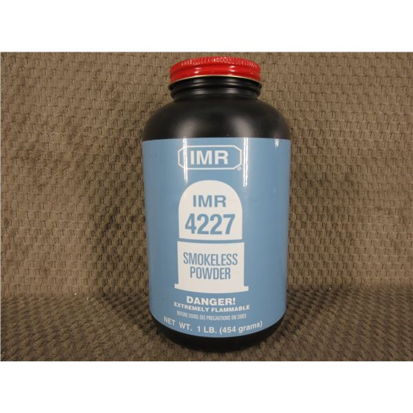 IMR 4227 Powder - Can weighs 518 Grams