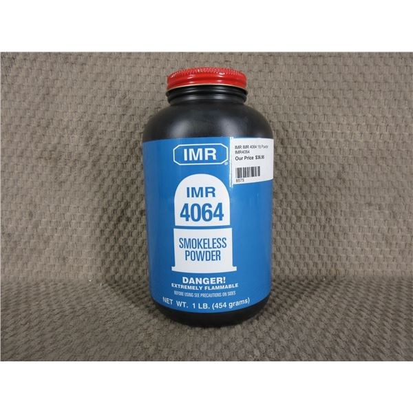 IMR 4064 Powder - Can weighs 482 Grams