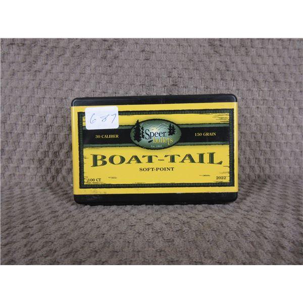 Speer 30 Cal 150 gr BTSP Box of 100 Unopened