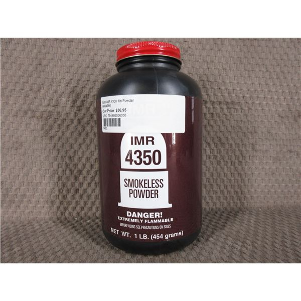 IMR 4350 Powder - Can weighs 292 Grams