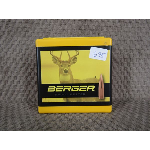 Berger 6MM, 95 gr VLD Hunting - Box 100 Unopened