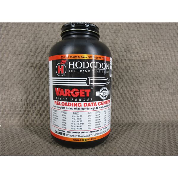 Hodgdon Varget Powder - Can Weighs 520 Grams