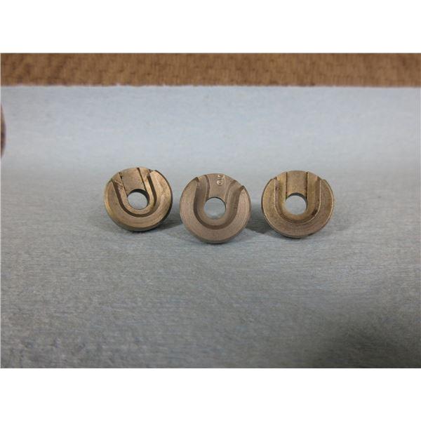 3 Shell Holders - #2, 2 - RCBS #3's