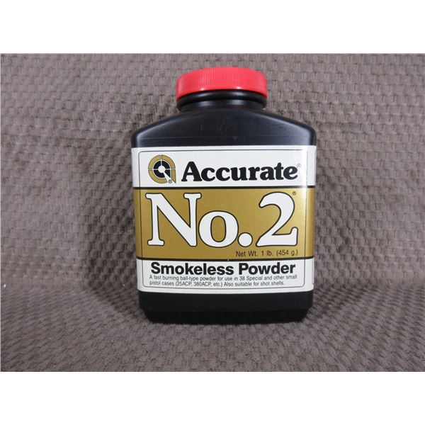 Accurate No. 2 Powder - Can Weighs 412 Grams