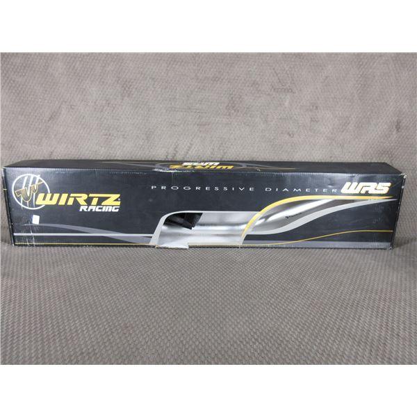 Wirtz #231-R5-Sl Handlebar WR5 Silver - Honda CR-High
