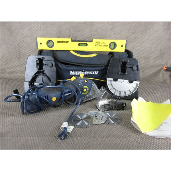 Mastercraft Multi-Cutter Precision Saw with Laser Level