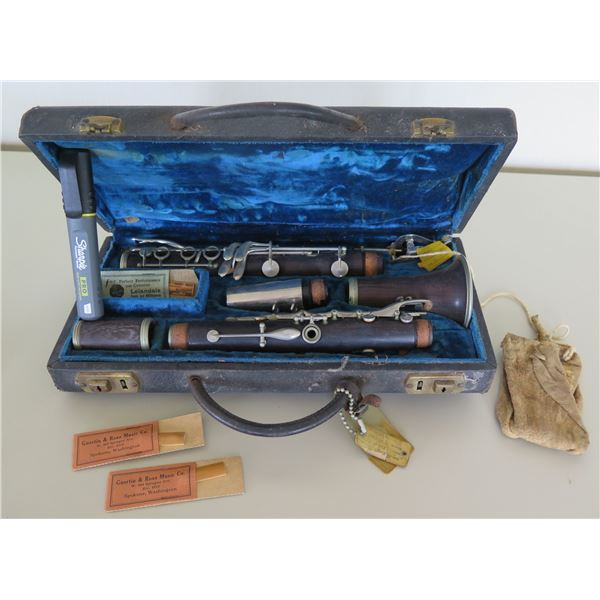 Guertin & Ross Music Co Clarinet 'Choice of the Artist' w/ Reeds & Hard Case
