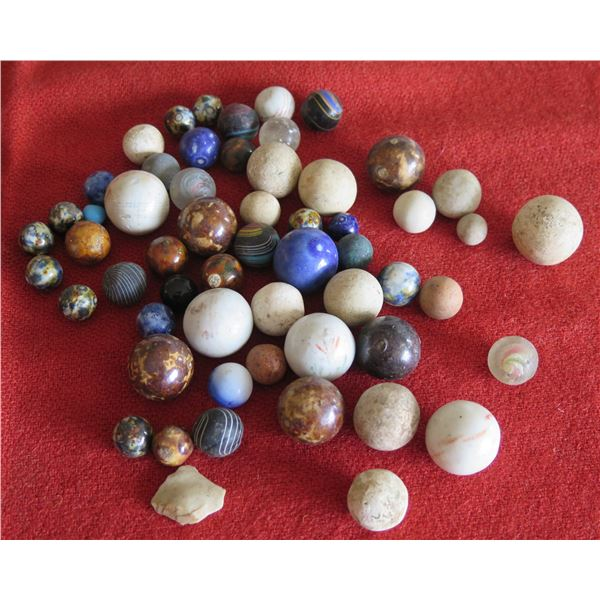 Multiple Round Polished Spheres, Rocks & Marbles - Misc Size & Colors