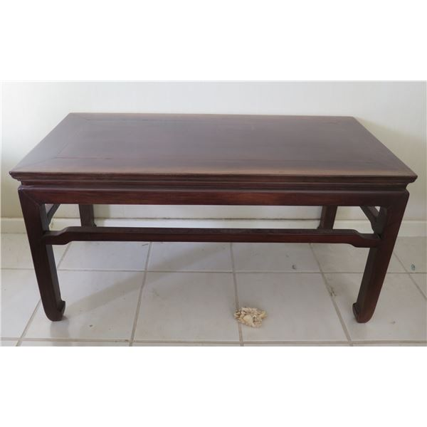 """Wooden Coffee Side Table 39""""x19""""x19"""""""