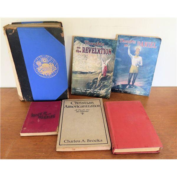 Vintage Books: 'Thoughts on Revelation', 'Christian Americanization', 'Freemasonry'