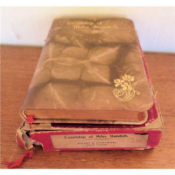 Vintage Longfellow 'Courtship of Miles Standish' in Original Box