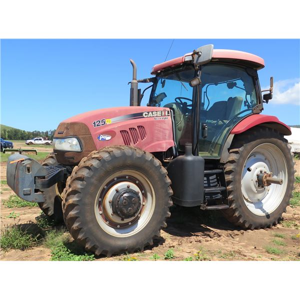 2009 Case IH Maxxum 125 Tractor (Runs & Drives See Video)